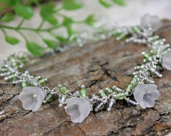 Bracelet * Lily of the valley *