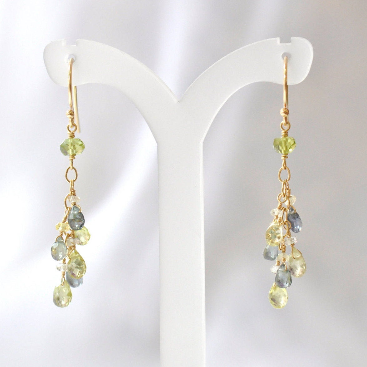 item natural luxury gold sapphire earrings diamond f full jewelry yellow