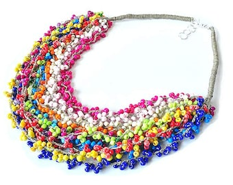 kama4you 2966 LINEN NECKLACE