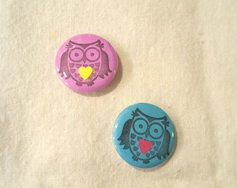 OWL - button / pin