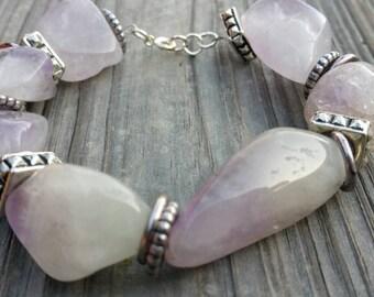 Beautiful Lilac amethyst bracelet
