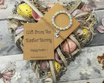 Easter Gift, Gift from The Easter Bunny, Easter Bunny Gift, Easter Egg Hunt, Girls Easter Gift, Easter Bracelet, Girls Easter Bracelet