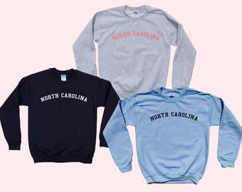 NORTH CAROLINA - Crewneck Sweatshirt
