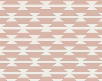 Tomahawk Stripe in Blush- Arizona After by April Rhodes- Art Gallery Fabrics