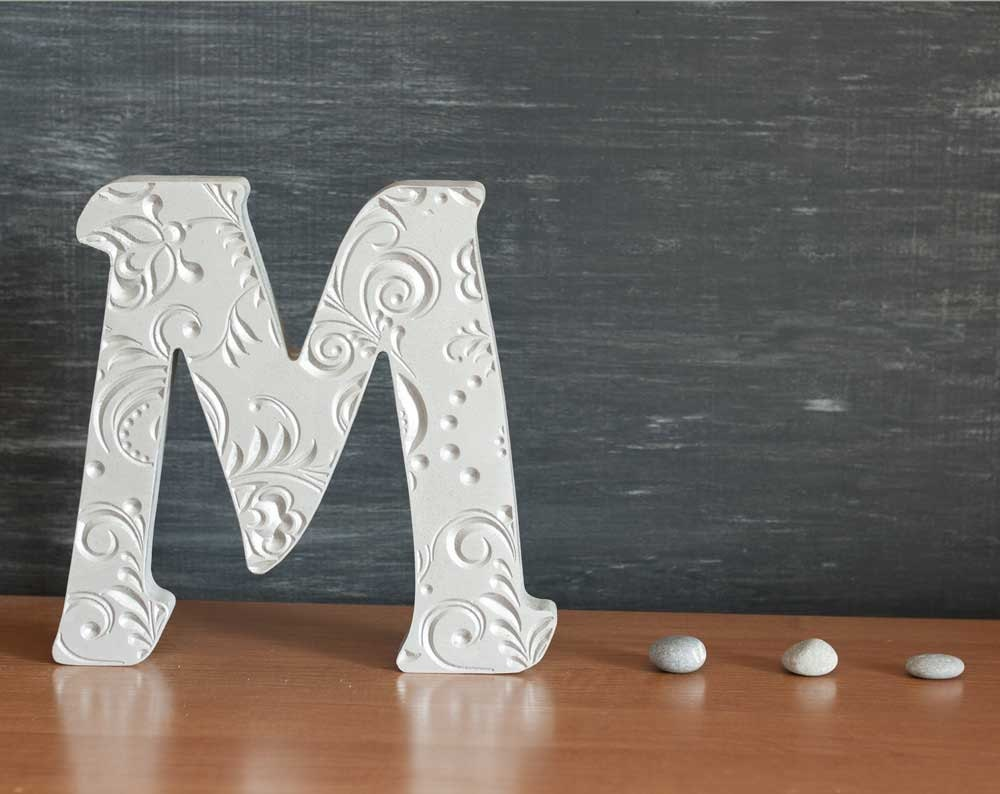 Letter M Home Decor Captivating M Alphabet Wooden Letters Stand Up Letters Gift Sign Design Ideas