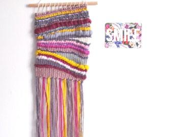 Woven wall hanging // weaving