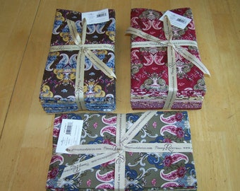 """Penny Rose Fabrics """"ERA OF JANE"""" sewing quilting 1 yard each 8 pc bundle vintage material"""