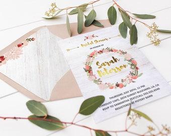 Printable Envelope Liners Boho Wedding Envelope Liner Template Bohemian Rustic Envelope Liner A7 Instant Download DIY Wedding Stationary