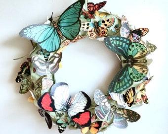 WREATH Butterfly Carnival SPRING wreath