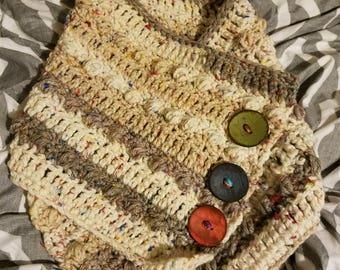 Kimberly Oversized Cowl Crochet Pattern