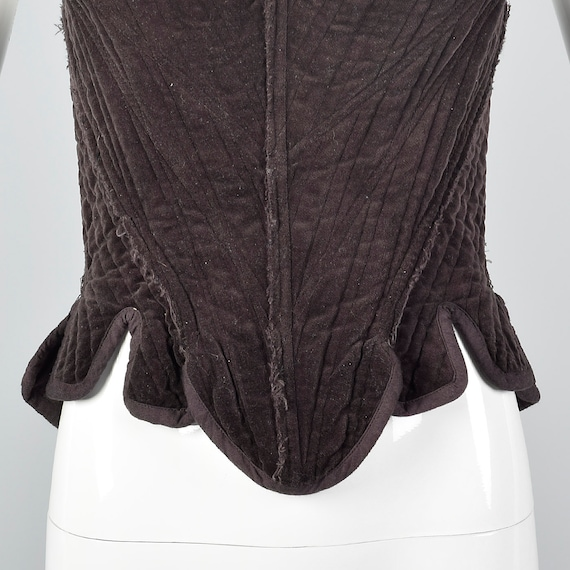 Cotton Vintage Unique Fashion Corset Top Brown Separates Laced Gary Corset Vintage Sleeveless Back Graham nwBRvBqp