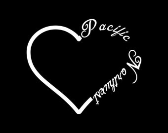 """Pacific Northwest Decal 5""""x6"""""""