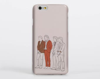 Gotta Whole Lot of History Phone Case iPhone Samsung Gloss Matte Tough One Direction Harry Styles Louis Tomlinson Liam Payne Niall Horan