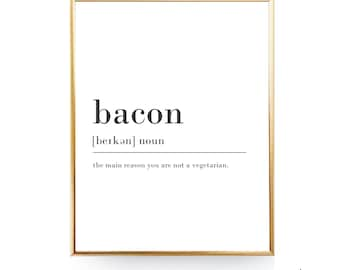 Bacon Definition Wall Art DIGITAL DOWNLOAD Funny Definition Print Dictionary Print Dorm Room Decor Word Definition Poster Bacon Print  sc 1 st  Etsy & Dorm room poster art | Etsy