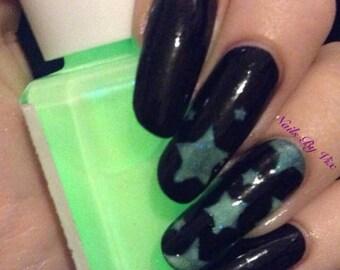 BOOtiful 15ml nail polish glow in the dark