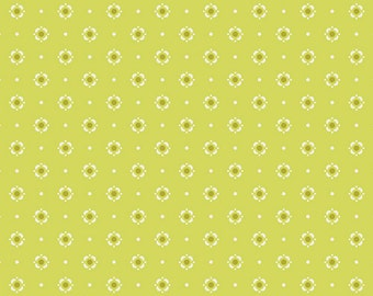 Bloomery in Citronelle from Dreamin' Vintage by Jeni Baker for Art Gallery Fabrics