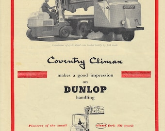 Automobile Advertising Dunlop Trucks 6 January 1954 (19)
