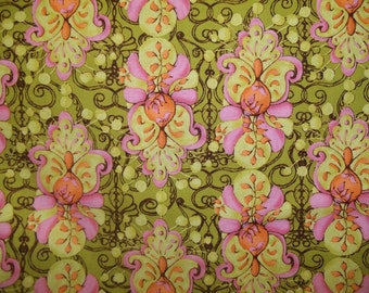 Beautiful Print By Tina Given Cloes Imagination Electic Layer for Free Spirit 1 yard licensed print cotton quilt fabric