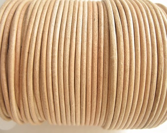 4 m leather 1.5 mm natural top quality