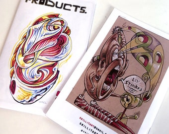 Products #5 zine