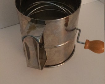 Flour Sifter Baking Supplies Tools Cake Cookies Cupcakes