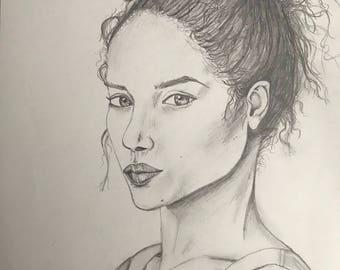 Portrait of Woman. ORIGINAL