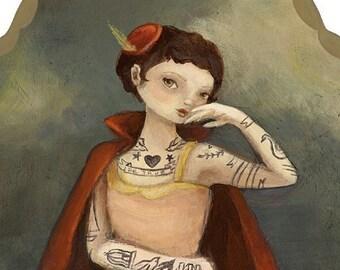The Tattooed Lady Print