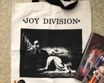 80's Post Punk Canvas Tote Bag