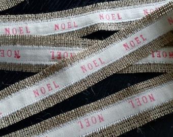 Christmas burlap ribbon,burlap ribbon, christmas ribbon, Christmas gift wrap ribbon, custom ribbon, christmas presents,