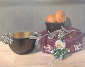 Still life oil painting, jodiestudio