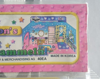 Complete Set of Sailor Moon Paper Doll Sticker - Backery Hospital Beauty Shop House - Mercury Mars Chibi JunJun CereCere