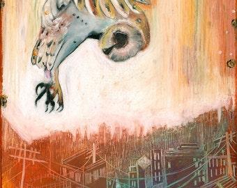 Owl PRINTS! (Giclee)