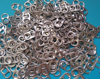 200 CAPSULES of cans Silver Aluminum