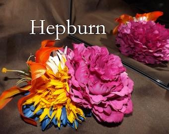 Tribal Fusion ATS Bellydance Floral Hair Clip, Hepburn