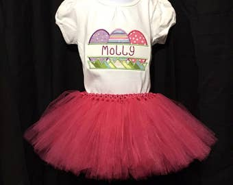 Easter shirt for girls - Easter outfit - Easter shirt - Easter outfit - Easter egg shirt Easter egg hunt- Easter tutu outfit - Easter oufit-