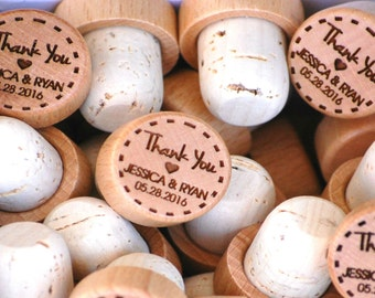 Personalized Wedding Favors Wedding Guest Gift, Engagement Party Custom Wedding Favor, Bridal Shower Favor, Cork Wedding Favor, Unique Favor