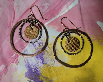 Copper circles and circles