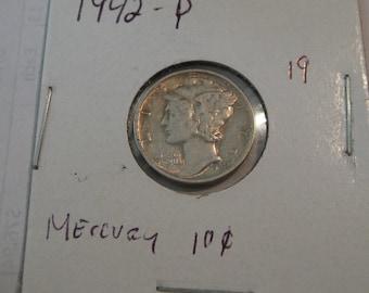 1942 P Mercury dime (19)