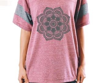 Mandala Shirt - Yoga Shirt - Boho Shirt - Graphic T Shirt - Graphic Tee For Women - Women's Graphic Tee - Mandala Graphic Tee - Yoga Clothes
