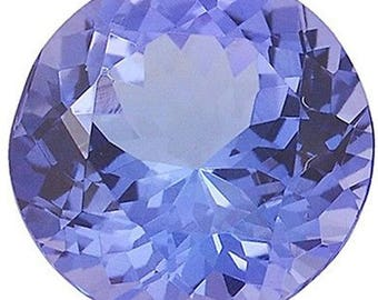 5mm Round Cut AA Tanzanite for jewellery matching 1 pieces Natural Birthstone Royal Blue Tanzanite