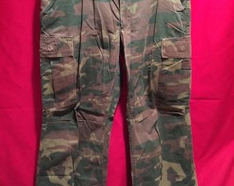 Vietnam War 1960's ERDL U.S Military Tropical Combat Pants