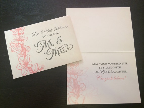 Wedding congratulations cards bulk greeting cards 5x7 a7 like this item m4hsunfo Gallery