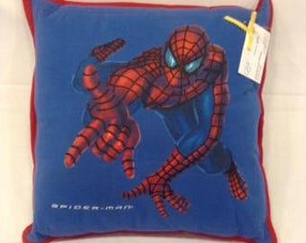 Spiderman T-shirt Pillow