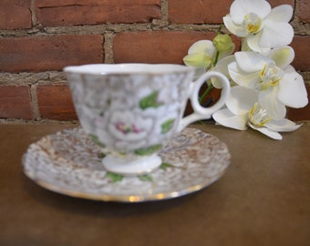 Vintage Nolex china teacup and saucer.
