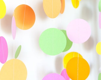Paper Garland - Pick your colour