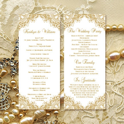 50th wedding anniversary order of service