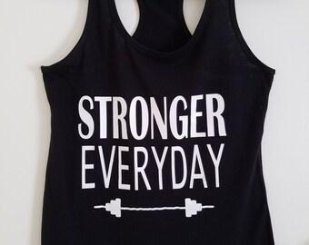 Stronger Everyday Racerback Tank