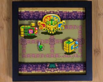 Zelda - Minish Cap (GBA) Shadowbox - Mazaal Boss Fight