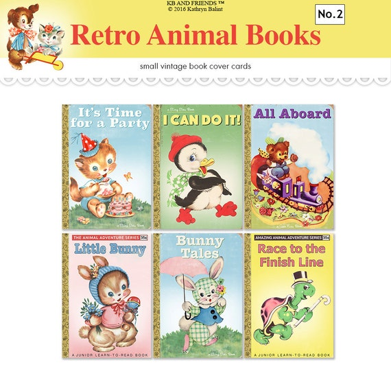 Printable Children S Book Covers ~ Children s book covers printable vintage atc aceo tags