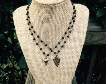 Black Rosary Chokers